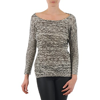 vaatteet Naiset Neulepusero Yas AMILIA KNIT PULLOVER Beige