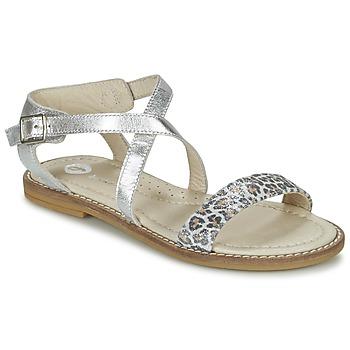 kengät Tytöt Sandaalit ja avokkaat Garvalin COSMOS Argenté