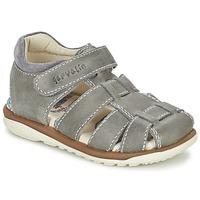 kengät Pojat Sandaalit ja avokkaat Garvalin GALERA Grey