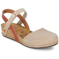kengät Naiset Sandaalit ja avokkaat Art POMPEI 739 Beige
