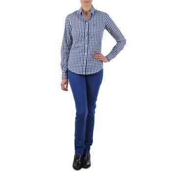 vaatteet Naiset Suorat farkut Gant N.Y. KATE COLORFUL TWILL PANT Blue