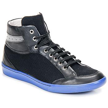 kengät Miehet Korkeavartiset tennarit Swear GENE 3 Musta / Sininen