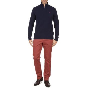 vaatteet Miehet Chino-housut / Porkkanahousut Hackett STRETCH TWILL CHINO Vaaleanpunainen