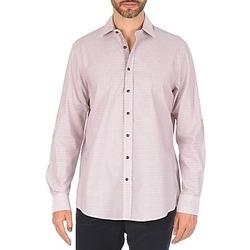 vaatteet Miehet Pitkähihainen paitapusero Hackett MULTI MINI GRID CHECK Multicolour