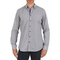 vaatteet Miehet Pitkähihainen paitapusero Hackett MEDALLION MULTI BD Blue