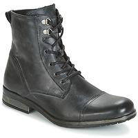 kengät Miehet Bootsit Casual Attitude RIBELLE Musta