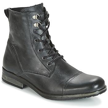 kengät Miehet Bootsit Casual Attitude RIBELLE Black