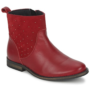 kengät Tytöt Bootsit Citrouille et Compagnie BELFINE Red