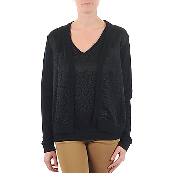 vaatteet Naiset Neuleet / Villatakit Majestic 238 Black