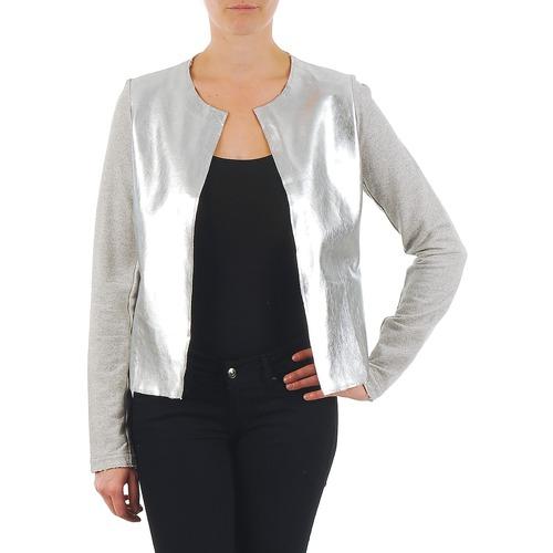 vaatteet Naiset Takit / Bleiserit Majestic 93 Grey / Hopea