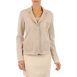 vaatteet Naiset Takit / Bleiserit Majestic 244 Beige