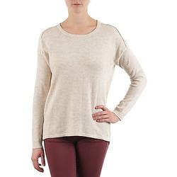 vaatteet Naiset Neulepusero Color Block 3265194 Beige