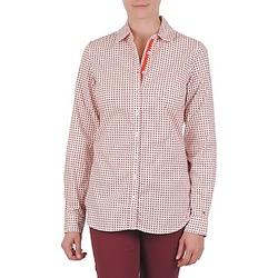 vaatteet Naiset Paitapusero / Kauluspaita Tommy Hilfiger CARYN Orange