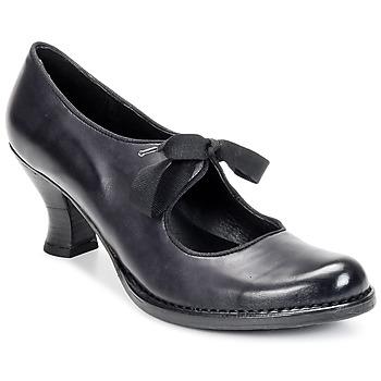 kengät Naiset Korkokengät Neosens ROCOCO COLA Black