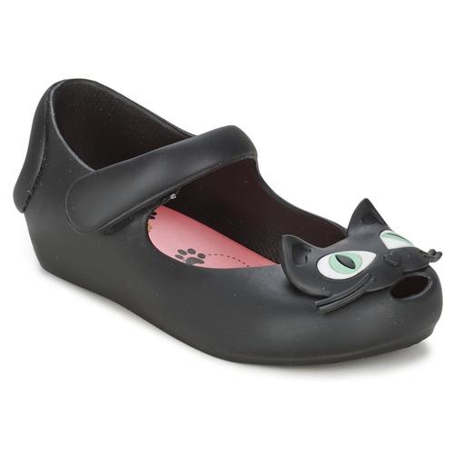 kengät Tytöt Balleriinat Melissa CHAT Black