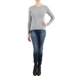 vaatteet Naiset Slim-farkut 7 for all Mankind THE SKINNY NEW ORL FLAME Sininen