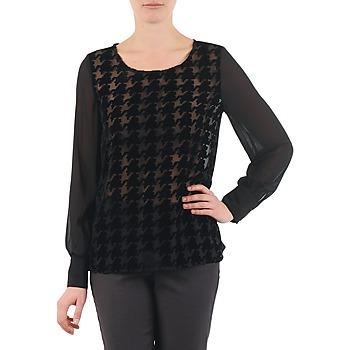 vaatteet Naiset Topit / Puserot La City ML FLOCK P Black