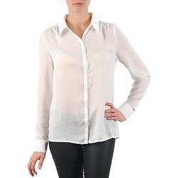 vaatteet Naiset Paitapusero / Kauluspaita La City OCHEM White