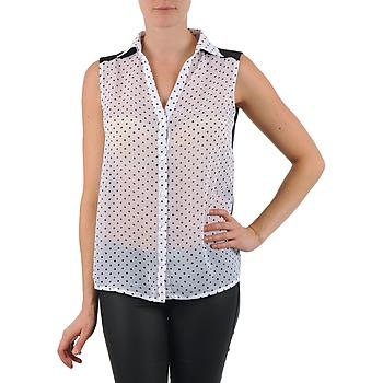 vaatteet Naiset Paitapusero / Kauluspaita La City O DEB POIS White