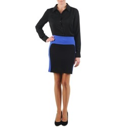 vaatteet Naiset Hame La City JMILBLEU Black / Blue