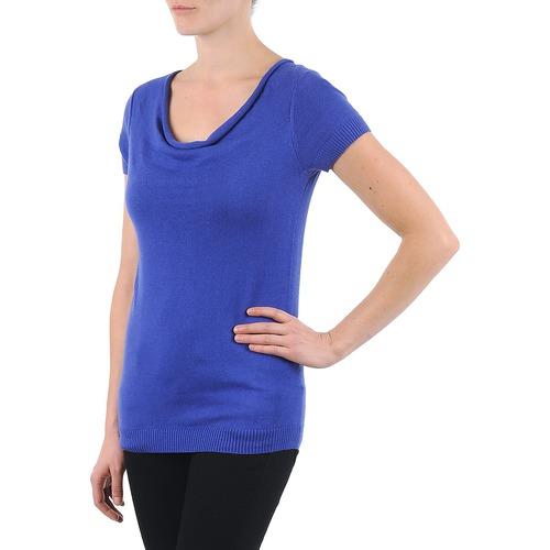 La City Pull Col Beb Blue - Ilmainen Toimitus- Vaatteet Lyhythihainen T-paita Naiset 27