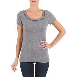 vaatteet Naiset Lyhythihainen t-paita La City PULL COL BEB Grey