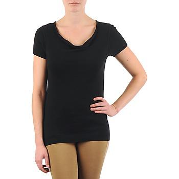 vaatteet Naiset Lyhythihainen t-paita La City PULL COL BEB Musta