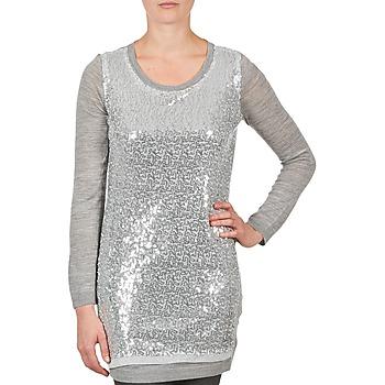 vaatteet Naiset Tunika La City PULL SEQUINS Grey