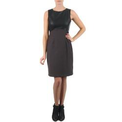 vaatteet Naiset Lyhyt mekko La City RTANIA Black / Grey