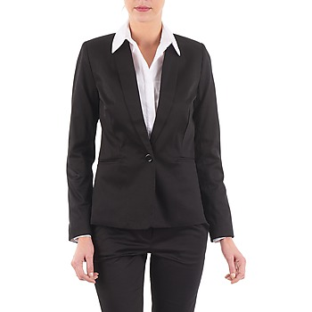 vaatteet Naiset Takit / Bleiserit La City VBASIC Black