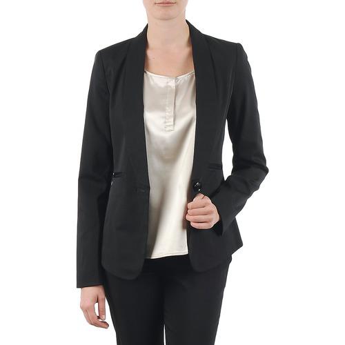 vaatteet Naiset Takit / Bleiserit La City FIDELIS Black