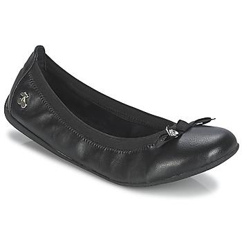kengät Naiset Balleriinat Le Temps des Cerises LILOU Black