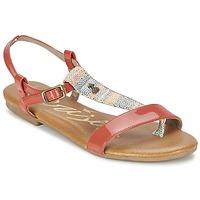 kengät Naiset Sandaalit ja avokkaat Le Temps des Cerises CARLY CORAIL CORAIL