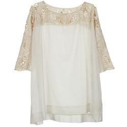vaatteet Naiset Topit / Puserot Stella Forest ATU030 BEIGE