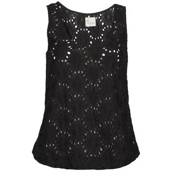 vaatteet Naiset Hihattomat paidat / Hihattomat t-paidat Stella Forest ADE007 Black