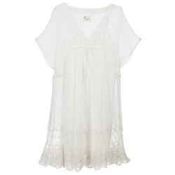 vaatteet Naiset Lyhyt mekko Stella Forest ARO035 ECRU