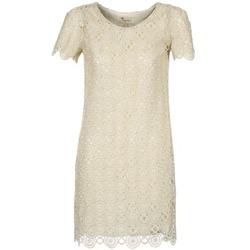 vaatteet Naiset Lyhyt mekko Stella Forest ARO051 ECRU / DORE
