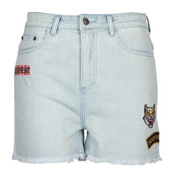 vaatteet Naiset Shortsit / Bermuda-shortsit American Retro BORIS Sininen