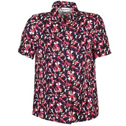 vaatteet Naiset Lyhythihainen paitapusero American Retro NEOSHIRT Musta / Vaaleanpunainen / Oranssi