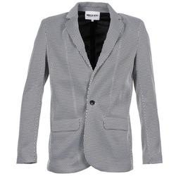 vaatteet Naiset Takit / Bleiserit American Retro JACKYLO Valkoinen / Musta