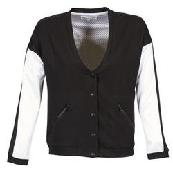 vaatteet Naiset Pusakka American Retro CHARONNE Musta / Valkoinen