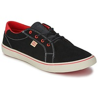 kengät Naiset Matalavartiset tennarit DC Shoes COUNCIL W Black / Red