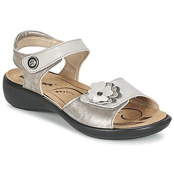 kengät Naiset Sandaalit ja avokkaat Romika IBIZA 67 Argenté