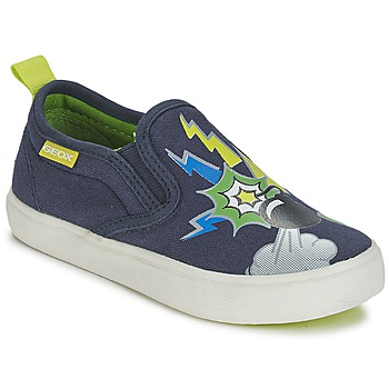 kengät Pojat Tennarit Geox KIWI B. D Blue / Green