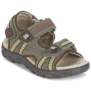 kengät Pojat Urheilusandaalit Geox S.STRADA A Brown