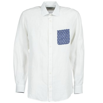 vaatteet Miehet Pitkähihainen paitapusero Serge Blanco CHACA White