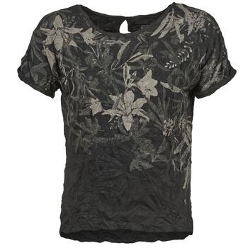 vaatteet Naiset Lyhythihainen t-paita Oxbow NIANA Black