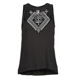 vaatteet Naiset Hihattomat paidat / Hihattomat t-paidat Element ROSANA Black