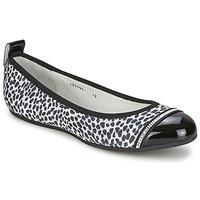 kengät Naiset Balleriinat Bikkembergs BASAR 910 Black / White