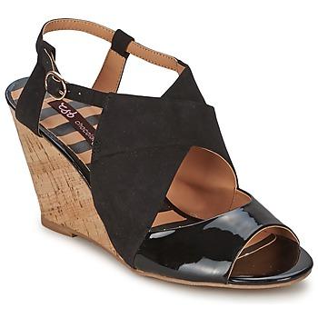 kengät Naiset Sandaalit ja avokkaat Chocolate Schubar ELVINA Black
